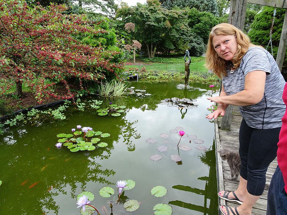 Maryland aquatics Garden, Kelly Billing