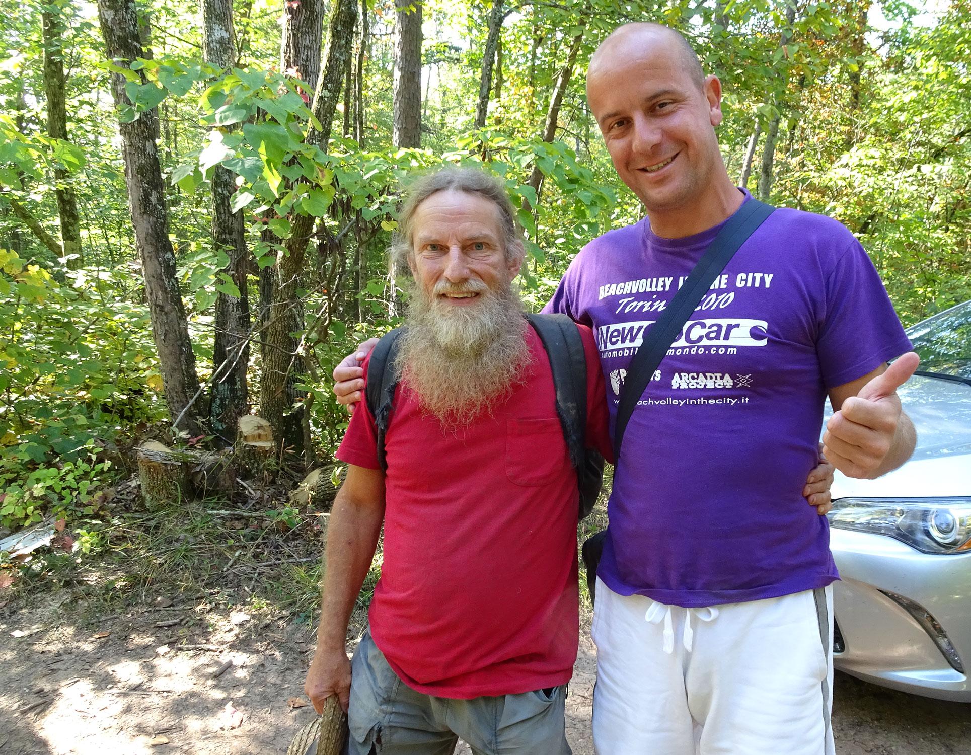 Gianluca Bonomo e Mike Giles