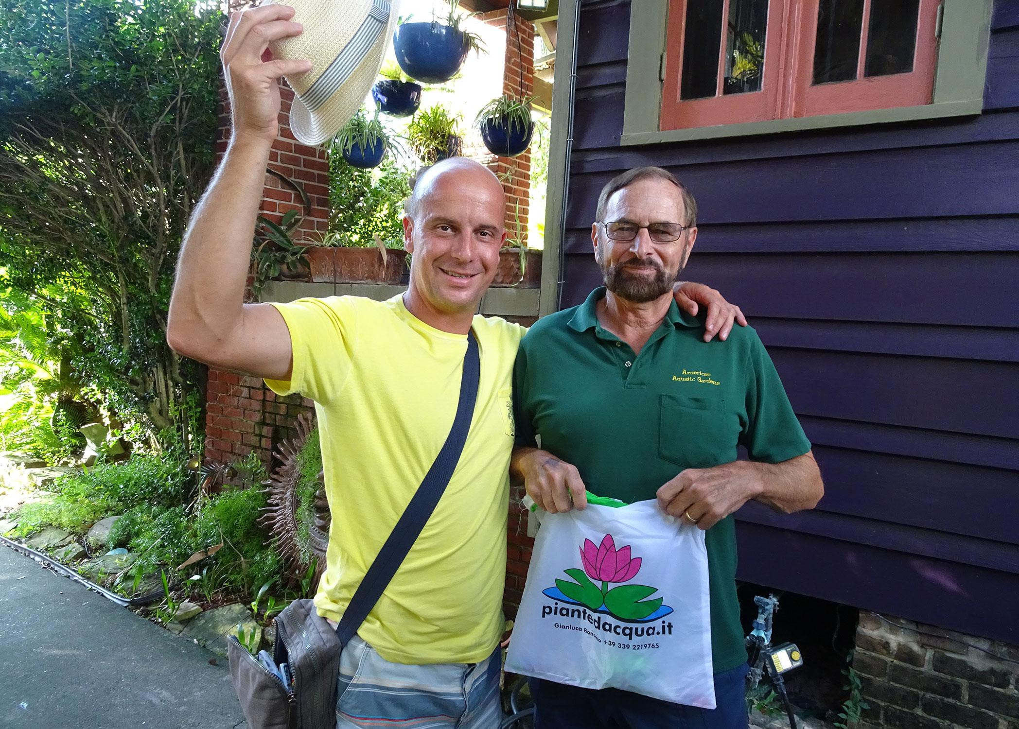 Rich and Gianluca at Casa Grande