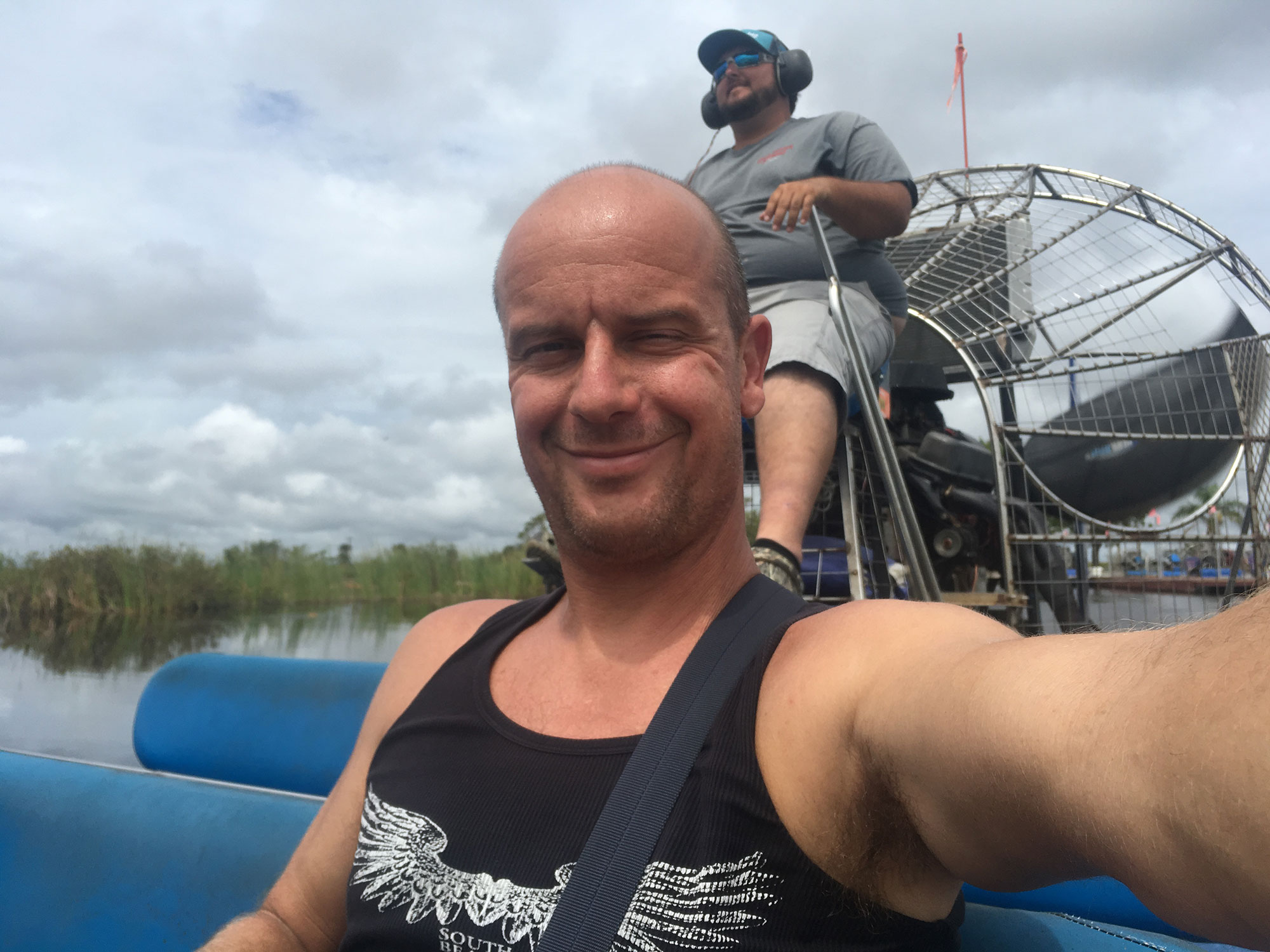 Airboat tour at Everglades