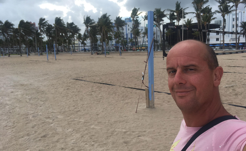 Beach Volley in SOBE Miami
