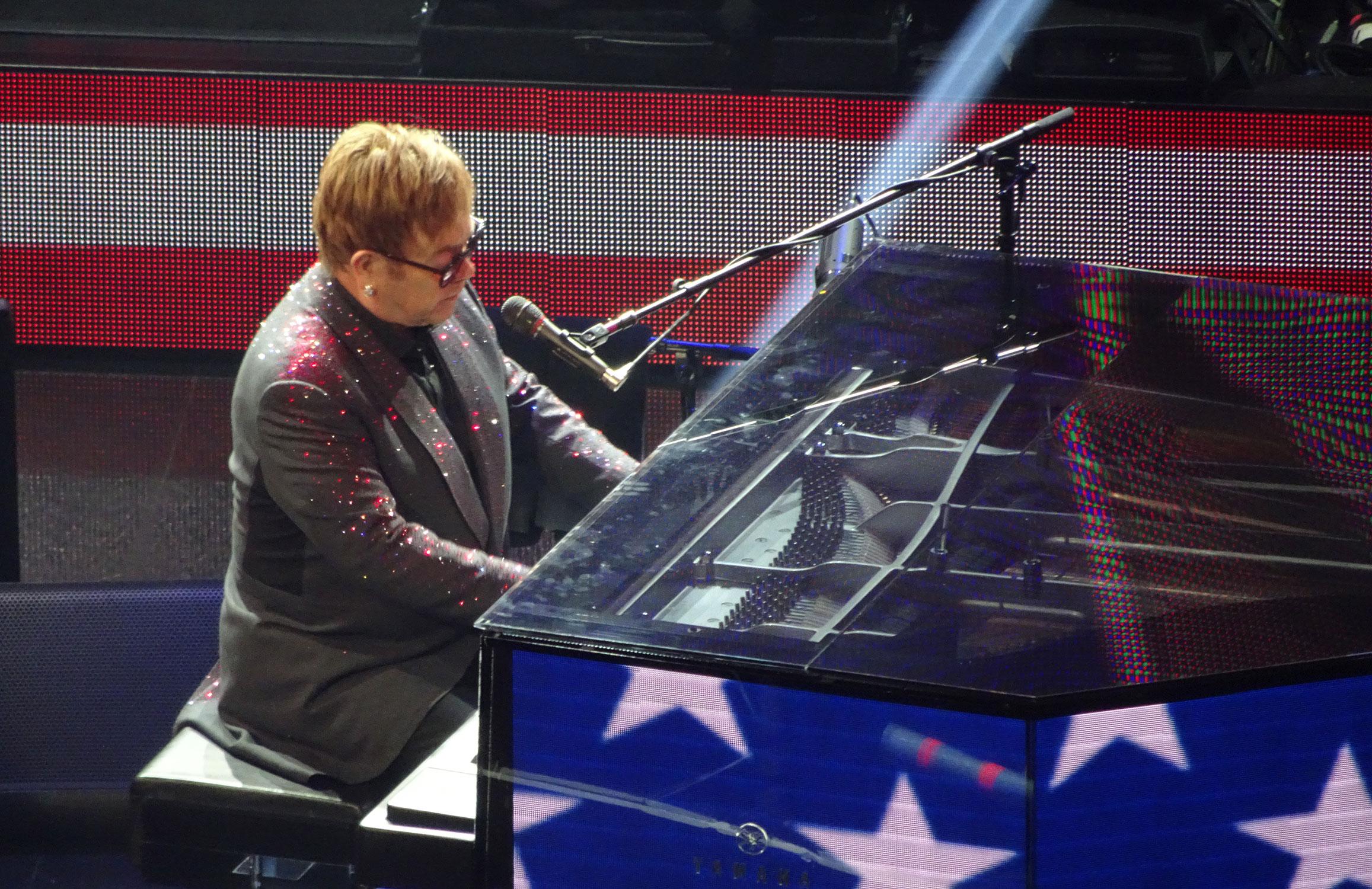 Elton John at Colosseum Las Vegas